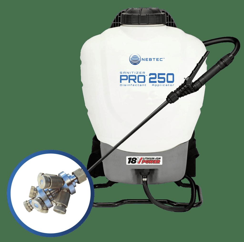 Product Sanitizer Pro 250 18V - Nebtec
