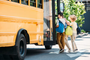 Disinfecting School Bus Interiors